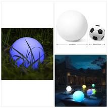 Kugelleuchte, Homever LED-Solar-Kugelleuchte Wasserdicht Schwimmkugel Ou... - $93.19