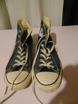 Converse All Star Shoes, High Top, Blue, Men's Size 12 - $39.60