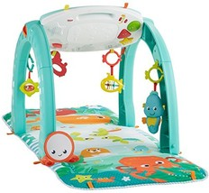 Fisher-Price 4-in-1 Ocean Activity Center, Blue/Green - $57.82