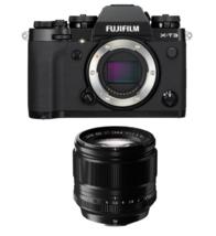 Fujifilm X-T3 Black With Xf 56mm F1.2 R Black - $2,179.65