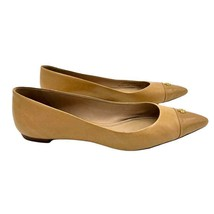 Tory Burch Fairford Pointed Flats Nude Tan 8.5 - $120.00