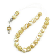 Ladies Worry Beads - Komboloi -  Mother of Pearl-MOP & Sterling Silver - $60.00