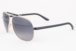 Tom Ford Adrian Black Gold / Gray Sunglasses TF243 28D - $175.42