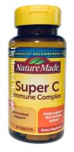 Nature Made Super C Immune Complex w/ Zinc 60 tablets each 4/2022 FRESH! - $13.45