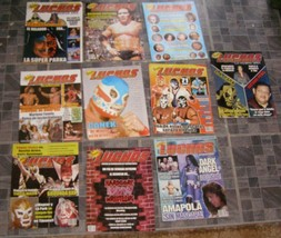Super Luchas Wrestling AAA CMLL Mistico (Sin Cara) La Parka Dr Wagner Gr... - $15.00