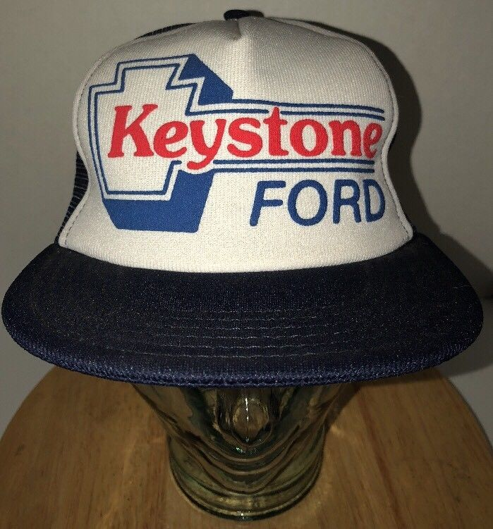 269d72d5f Vintage Keystone Ford 80s Trucker Hat Cap and 50 similar items