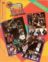 1993 nba inside stuff poster baseketball book - $9.99