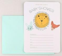 10ct Gartner Studios Mari Mi Baby Animals Neutral Baby Shower Invitation Cards image 2