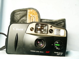 Canon Sure Shot AF-7 Point And Shoot 35mm Compact Camera Cased -TESTED - $30.00