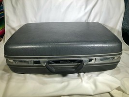 Vintage Samsonite Profile II Hardshell Suitcase Great Shape Free Shipping - $69.29