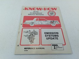 1981 Buick Know-How Service Training Reference Emission Systems Update K... - $14.99
