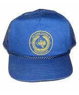 Vtg Texas Metal Detecting Club Snapback Hat Cap Old Man Costume - $59.28