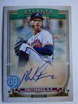 2020 Topps Gypsy Queen Mike Foltynewicz Braves Auto Autograph Baseball Card - $7.99