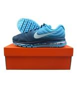 Nike Air Max 2017 Running Shoes Binary Glacier Blue 849559 404 New Mens ... - $139.95