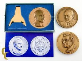 Medallic Art Company Inaugural Bronze Medals President Nixon Ford Rockerfeller - $49.50