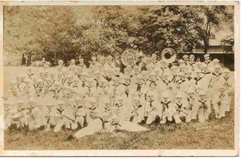 School Band Canton Borough Bradford County Pennsylvania Real Photo Post Card - $6.00