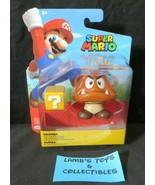 """Super Mario Jakks Pacific 4"""" Goomba collectible action figure World Nint... - $37.99"""