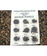 Brown Replacement spur ROWELS COMPLETE rowel sets WITH Pins AND cotter p... - $99.99