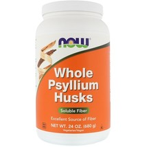 Now Foods Whole Psyllium Husks, 16 oz (454 g) or 24 oz - $12.99+