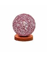 BOKT Minimalist Solid Wood Table Lamp Bedside Desk Lamp Colourful Art De... - $13.11