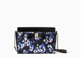 KATE SPADE MONTFORD PARK Floral ANGELICA LEATHER  PURSE - $245 - £70.20 GBP