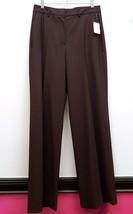 SAKS FIFTH AVENUE Size 10 Brown Career Work Dress Pants Slacks Trousers - $43.72
