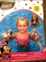 Disney Minnie Mouse Bowtique and Daisy Duck Water Arm Floats Swim Time Fun - $4.95