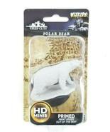 WizKids Deep Cuts Unpainted Miniatures: Polar Bear, New & Sealed - $8.95