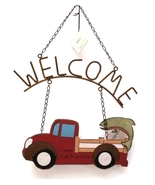Rusty Nail Collection Truck Welcome Sign - $12.99