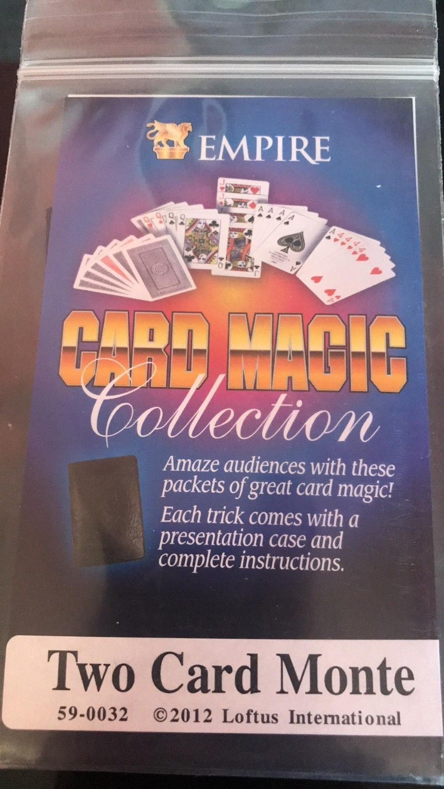 Empire Card Magic Collection - Two Card Monte