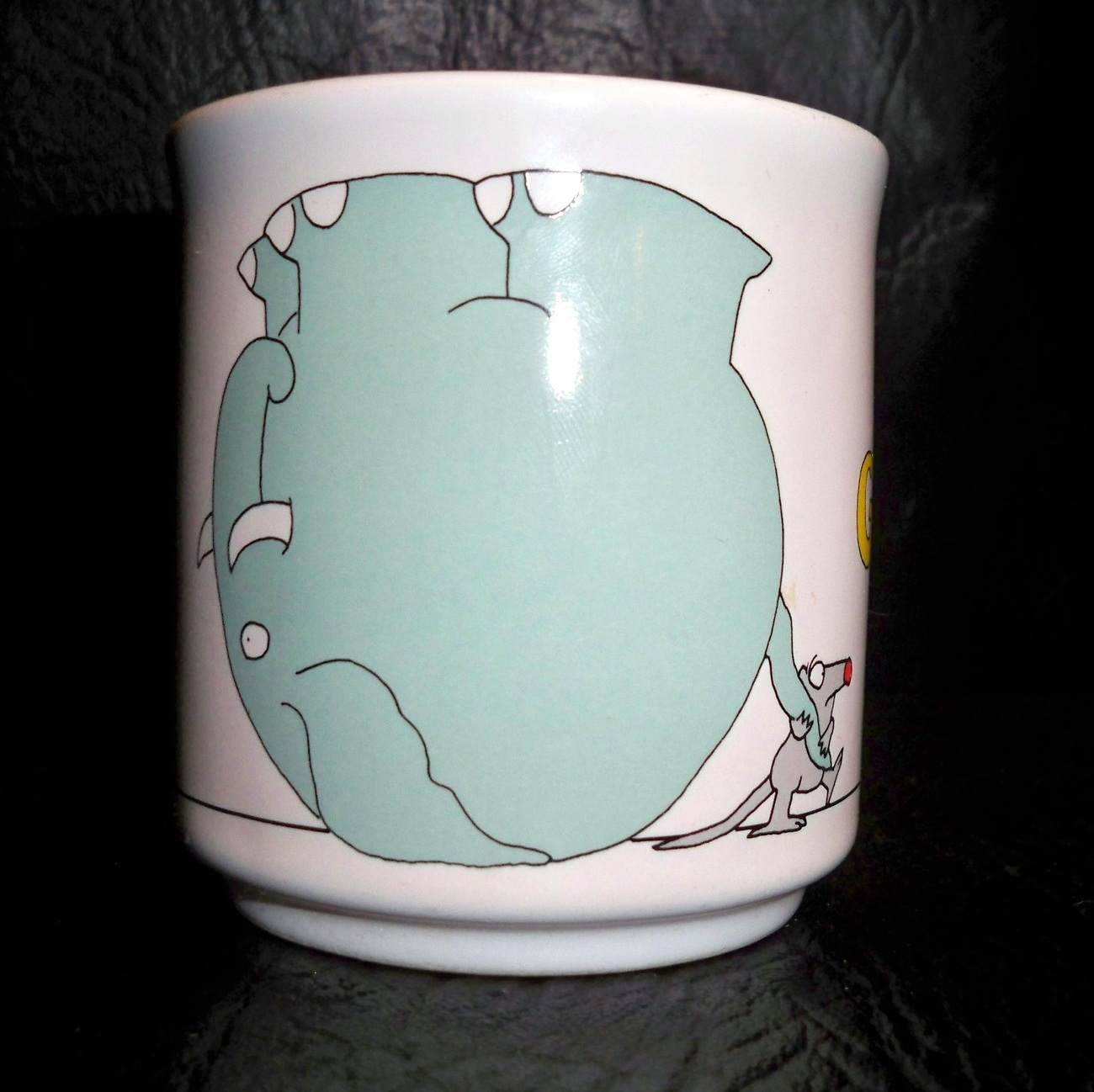 Coffee Cup Gift Lot/8 Lefton China Grampa Christmas Birthday