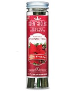 Scentsicles Ruby Red Poinsettia Hanging Ornament Sticks, 1 Pack (6 Pieces) - $8.95
