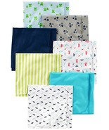 Simple Joys by Carter's Baby Boys' 7-Pack Flannel (One Size|Blue/White) - $19.32
