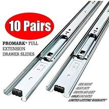10 Pack Promark Full Extension Drawer Slide 16 Inches - $60.68