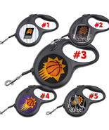 Phoenix Suns Retractable Dog Leash tangle free upto 110 lb pet leash #1 - $22.30+