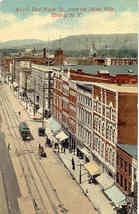East Water Street Elmira New York Vintage Post Card - $5.00