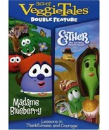 VEGGIE TALES: MADAME BLUEBERRY/ESTHER THE GIRL WHO WOULD BE QUEEN DOUBLE... - $33.98