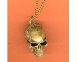 Skull realistic 20antiqued necklace thumb155 crop