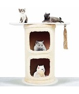 Kshioe Cat Tower Structure Stable Load Bearing 100lbs Super Durable Cat ... - $51.95