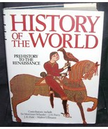HISTORY OF THE WORLD Prehistory to Renaissance Book 1987 HC  - $21.96