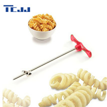 Manual Roller Spiral Slicer Radish Potato Tools Kitchen Accessories Tools - $6.58