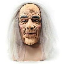 Miedo Anciano Máscara y Cabello, Disfraz de Halloween Goma Máscara de Ho... - ₹729.86 INR
