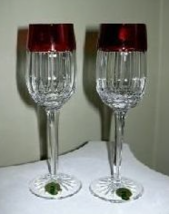 Waterford Simply Red Cordial Pair  - $122.95