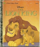 The Lion King Walt Disney Justine Korman Hardco... - $4.99