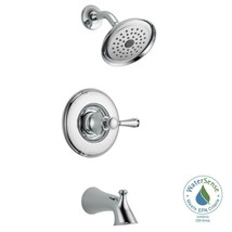 Delta Silverton Single-Handle 1-Spray Tub and Shower Faucet in Chrome (V... - $128.05
