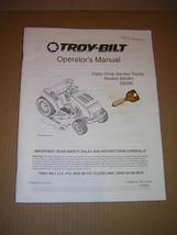 Troy-Bilt Model B809H, R809K Pedal Drive Tractor Operators Manual & Key - $12.50