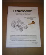 Troy-Bilt Model B809H, R809K Pedal Drive Tractor Operators Manual & Key - $12.50