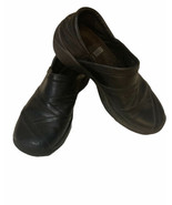 Merrell Ortholite Q Form Clogs Slip-On Black Leather Loafers Shoes Women... - $23.92