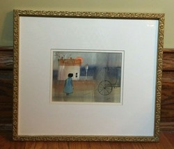 Original Watercolor Painting of Amish Life by Roger Haas - $160.00