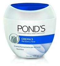 Ponds Moisturizing S Cream 100g Crema Humectante por 48h Nutritiva  (Pac... - $14.74